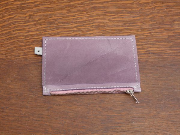 Portemonnee Karin , handgemaakt, leer , tas van sas