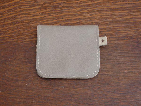 Portemonnee Coin, handgemaakt van leer , tas van sas
