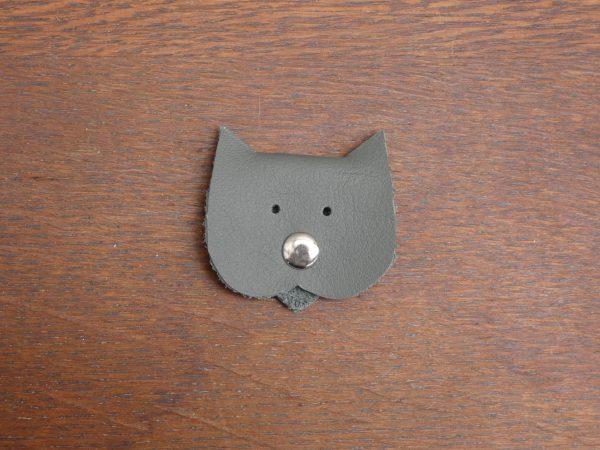 kabelbinder leer kat ,tas van sas