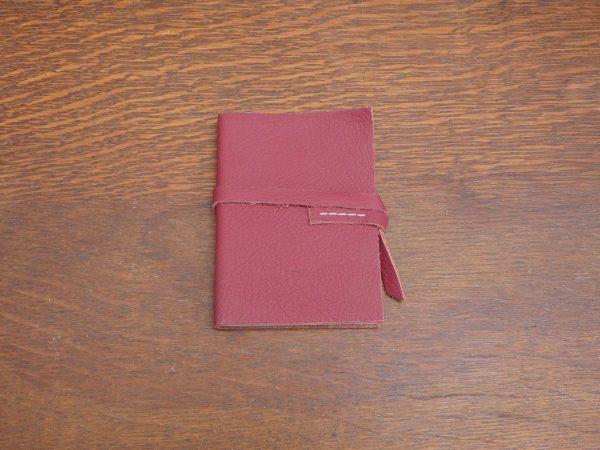Notitieboekjes met leer , tas van sas