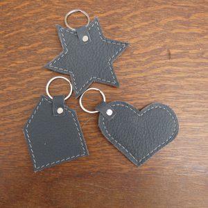 Keychain Ster – Hart – Huis